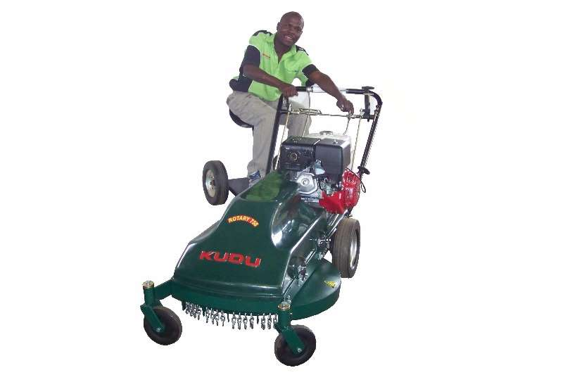 Lawn Equipment Kudu Industrial Rotary Mower with Power Pro Engine 2017
