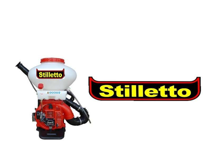 Stilletto Back Pack Mist Duster Lawn equipment