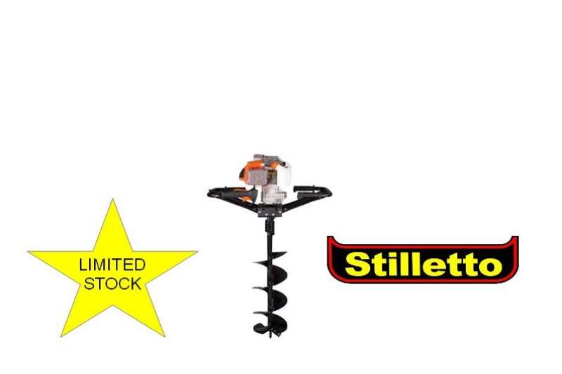 Stilletto Earth Auger with 150 mm Drill Bit Lawn equipment