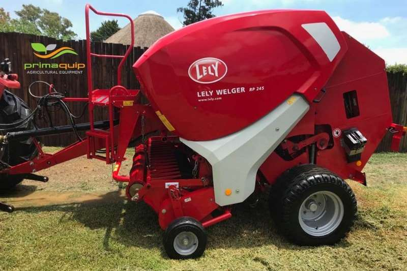 Lely Hay and Forage Balers Lely Welger RP 245 Net 2013