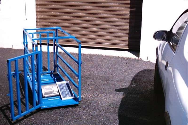 Livestock scale equipment Sheep / Pig Scale Livestock handling equipment