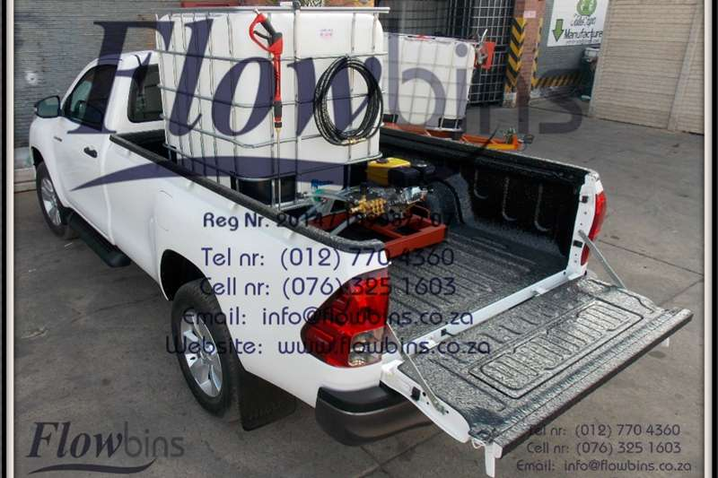 1000Lt Pressure Washer 0 178 Bar adjustable   Bakk Machinery