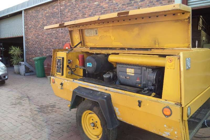 Machinery 125 KPA Atlas Copco 0