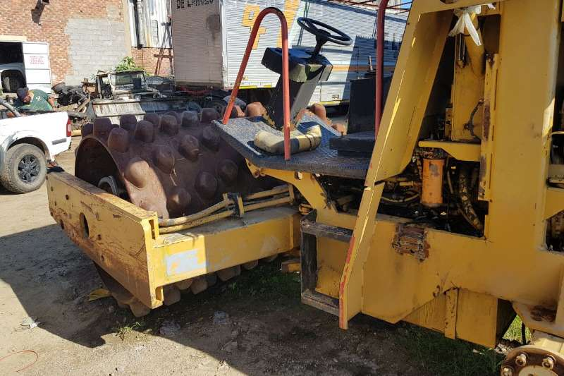 CAT Padfoot Roller Machinery