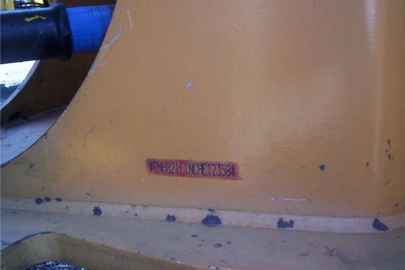 Construction CASE FRONT END LOADER 821F. Machinery