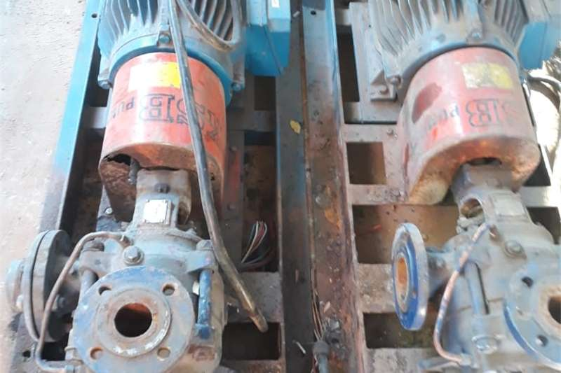 Machinery Construction KSB WATER PUMP