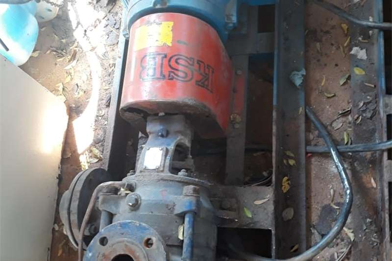 Construction KSB WATER PUMP Machinery