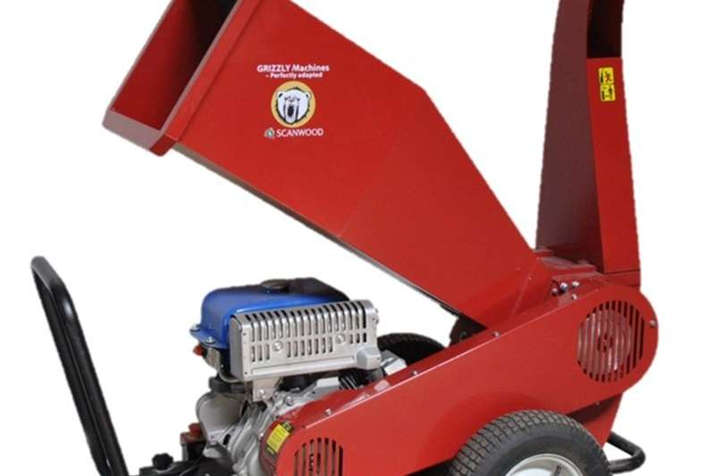 Farming Grizzly Wood Chipper 75 Machinery