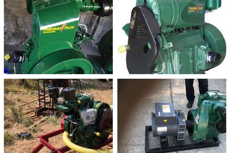 Farming Lister Type Engines & Water Pumps & Generators Machinery
