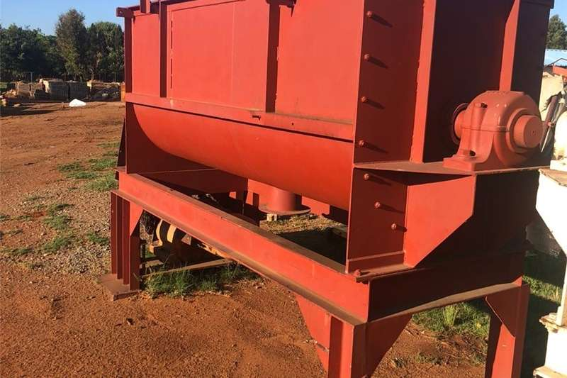 Farming Mixer with Electric Motor & Reduction Gearbox Machinery