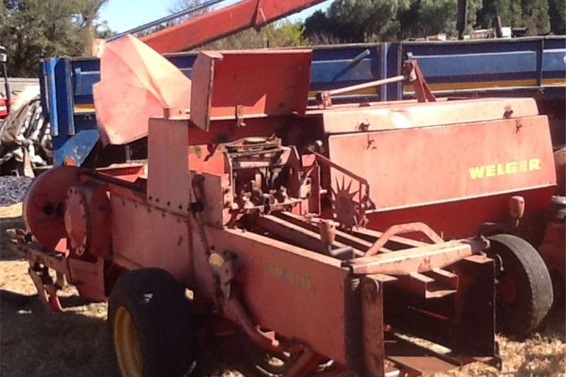 Farming welger AP61D hay baler Machinery