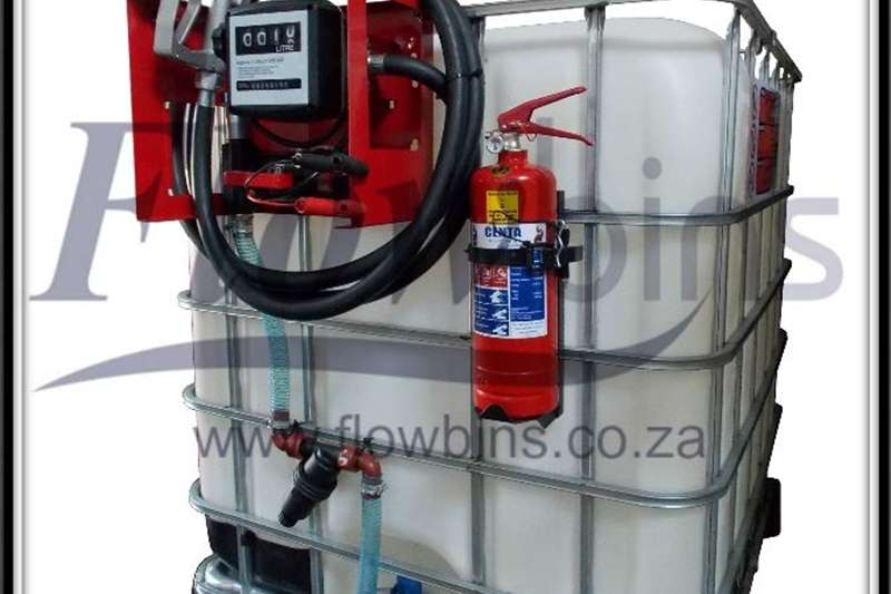 Machinery Gauteng: 1000L Diesel / Paraffin Bowsers 12V / 220