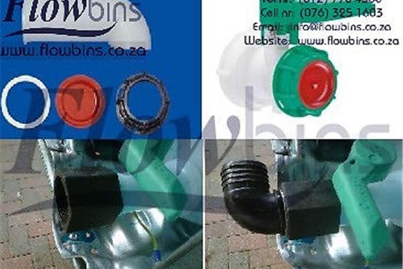 Gauteng: 1000L Flowbins (IBC): Adaptors, Spares, P Machinery