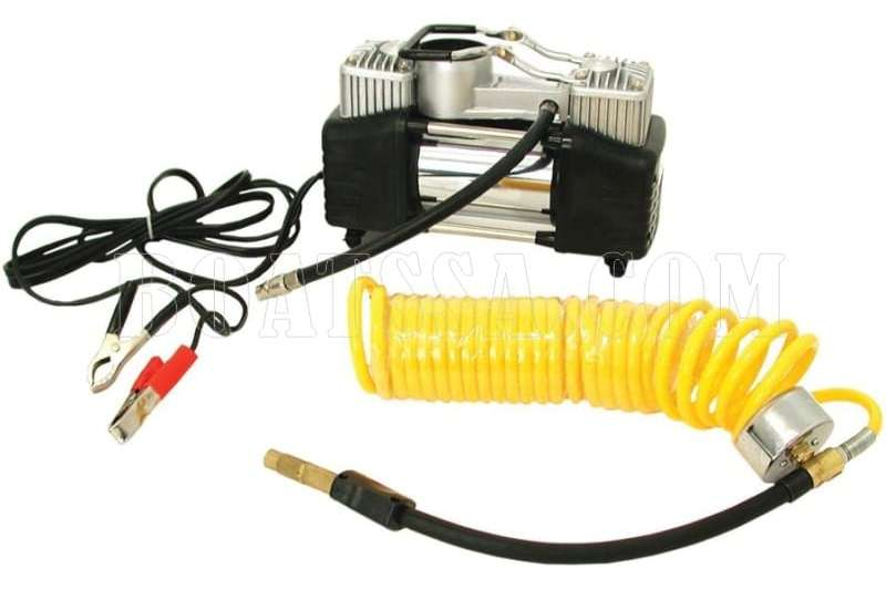 HEAVY DUTY DUAL ACTION AIR COMPRESSOR 12V Machinery