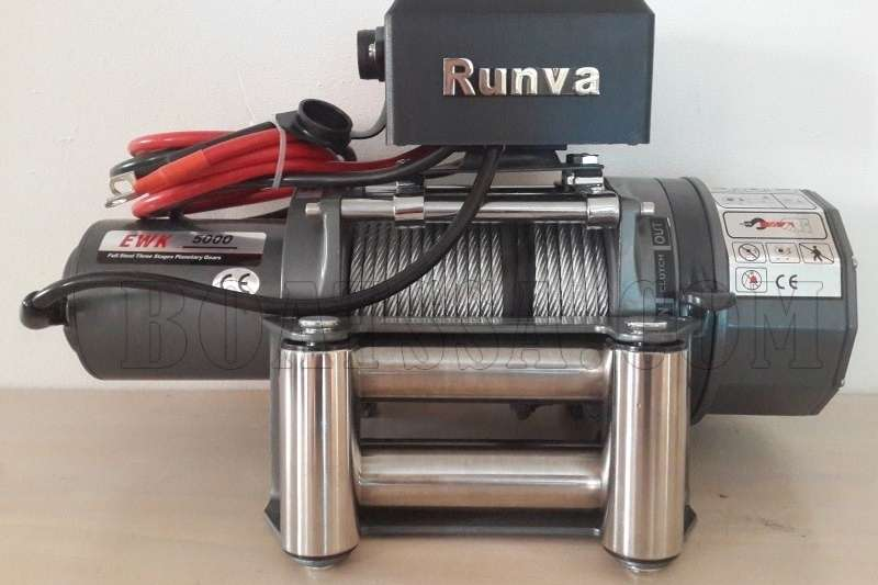 RUNVA K5000S 12V ELECTRIC CABLE WINCH Machinery