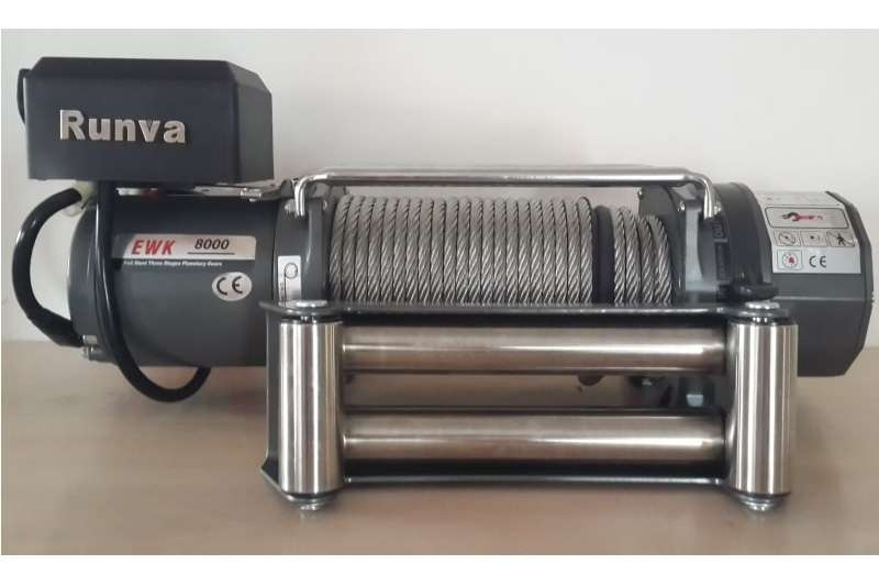 RUNVA K8000S 12V ELECTRIC CABLE WINCH Machinery