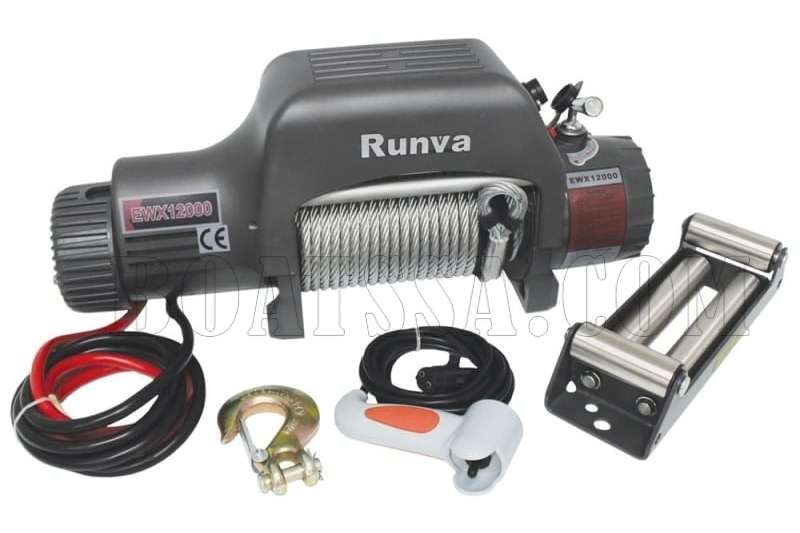 RUNVA X12000F 12V ELECTRIC CABLE WINCH Machinery