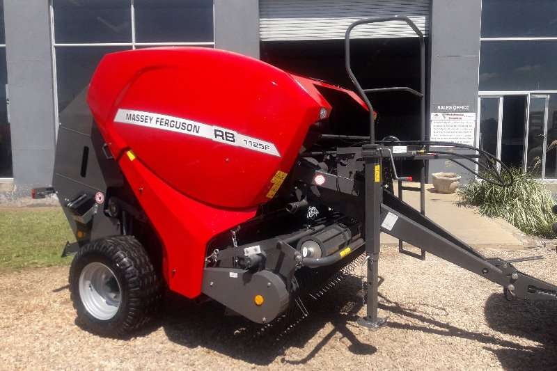 Massey Ferguson Hay and Forage Balers ON SPECIAL!! RB1125F ROUND BALER 2019