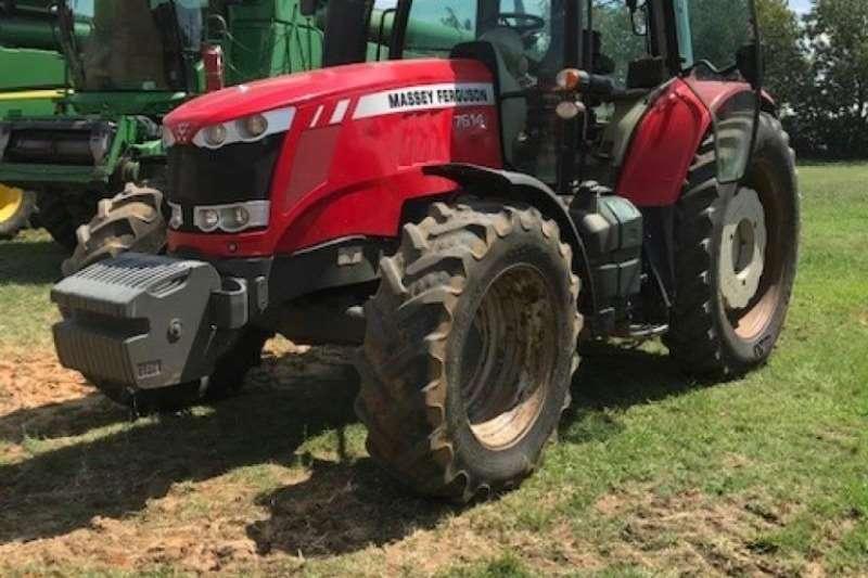 Massey Ferguson 7614 4x4 Cab Tractor Tractors