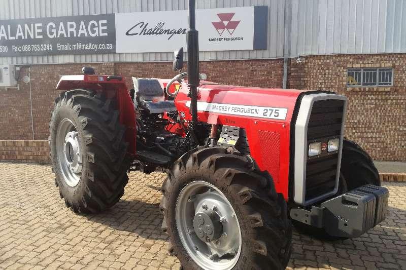 Massey Ferguson Four wheel drive tractors 275 4x4 Tractors