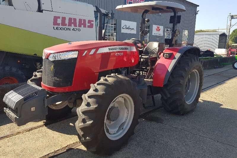 Massey Ferguson Four wheel drive tractors 4708 8speed Tractors
