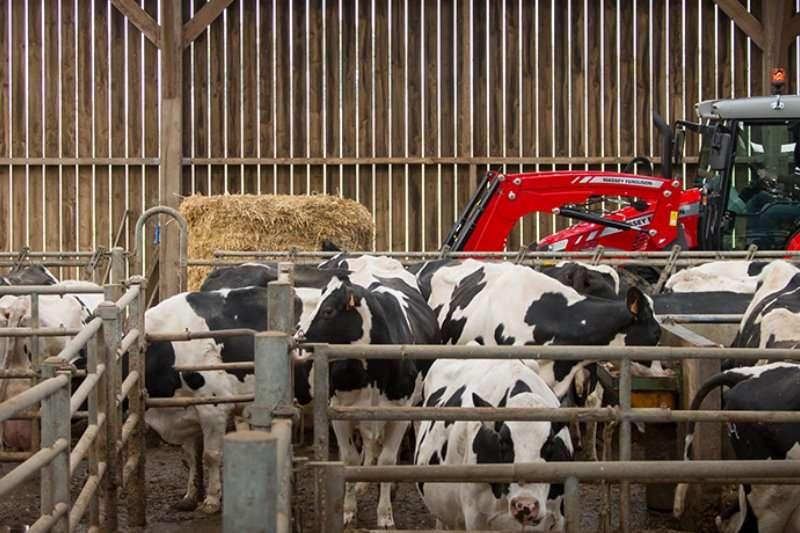 Massey Ferguson Four wheel drive tractors 5410 4WD CAB Tractors