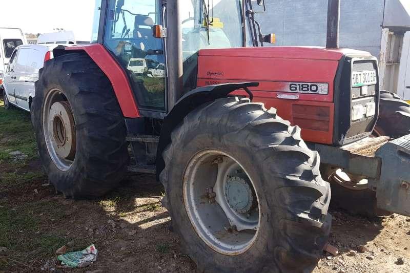 Massey Ferguson Four wheel drive tractors 6180 4X4 Tractors