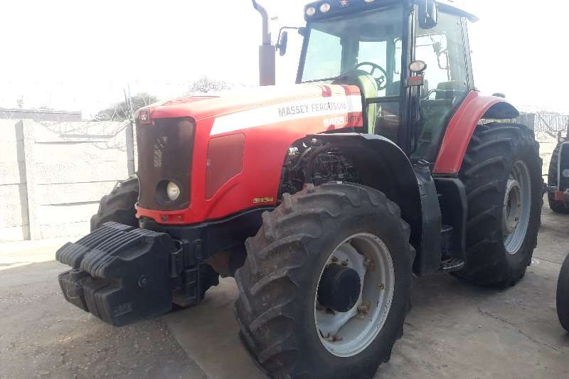 Massey Ferguson Tractors Four Wheel Drive Tractors 6485 4WD CAB DYNA 6 2010