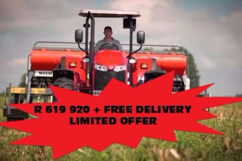 Massey Ferguson Four wheel drive tractors 6711 4WD PS Tractors
