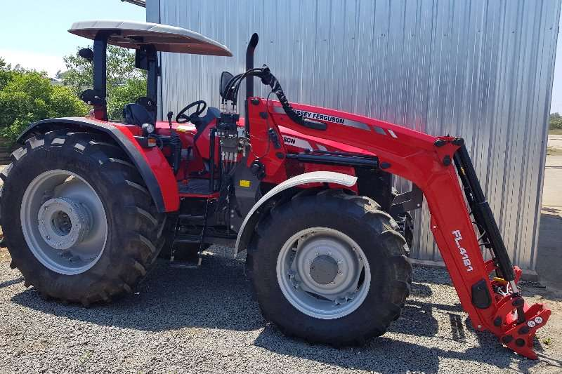 Massey Ferguson Four wheel drive tractors 6711 demo with loader Tractors