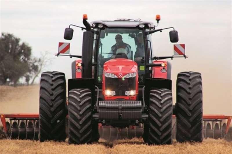 Massey Ferguson Four wheel drive tractors 8737 CAB 4WD DT VT Tractors