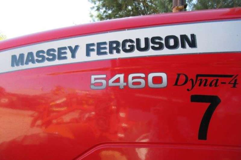 Massey Ferguson Four wheel drive tractors Massey Ferguson MF 5460, Dyna   4, 4x4 Tractor Tractors
