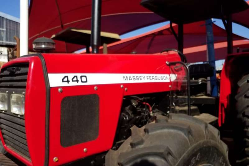 Massey Ferguson Four wheel drive tractors MF 440 4x4 Fully Refurbished to new Tractors