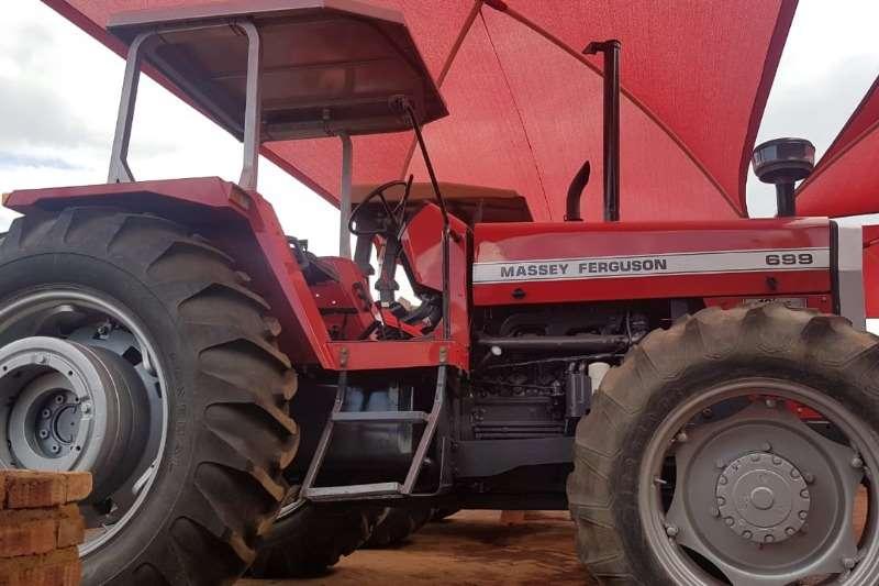 Massey Ferguson Tractors Four Wheel Drive Tractors MF 699 Fully Refurbished to new
