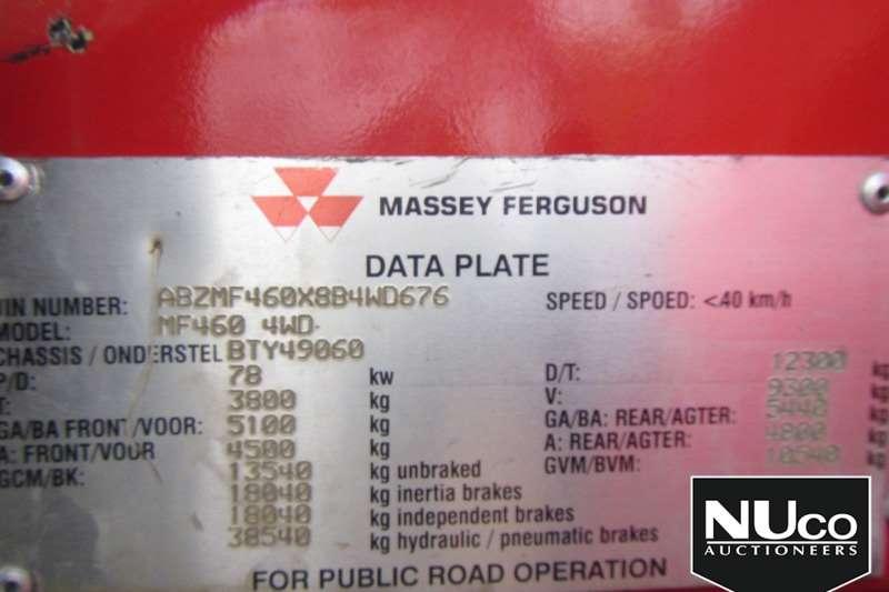 Massey Ferguson MASSEY FERGUSON MF460 4WD TRACTOR Tractors