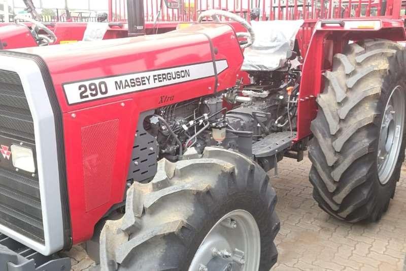 Massey Ferguson MF 290 2x2 and 4x4 Tractors