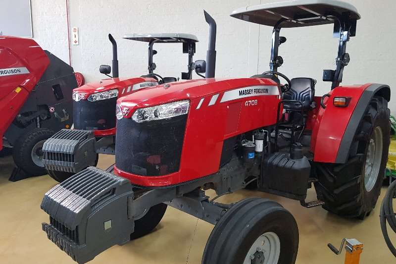 Massey Ferguson Two wheel drive tractors 4708 2wd Power Shuttle Tractors