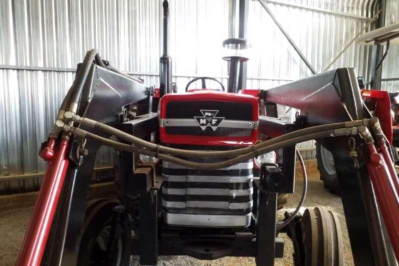 Massey Ferguson Two wheel drive tractors MF 188 + FEL Tractor Refurbished to NEW 0125205010 Tractors