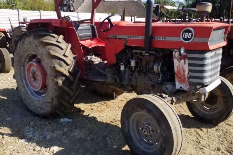Massey Ferguson Tractors Two Wheel Drive Tractors MF 188 Tractor - 012 520 5010 - Tractor Giants