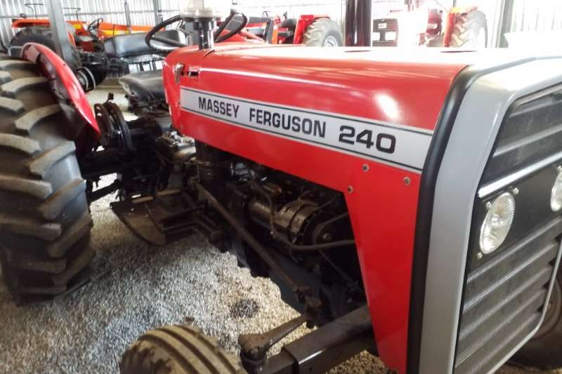 Massey Ferguson Tractors Two Wheel Drive Tractors MF 240 Tractor Refurbished to NEW - 012 520 5010