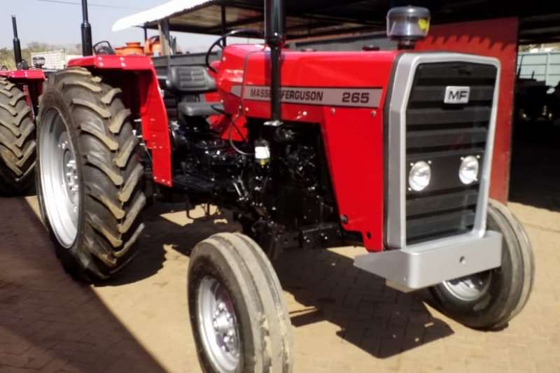 Massey Ferguson Tractors Two Wheel Drive Tractors MF 265 Tractor Refurbished to NEW - 012 520 5010