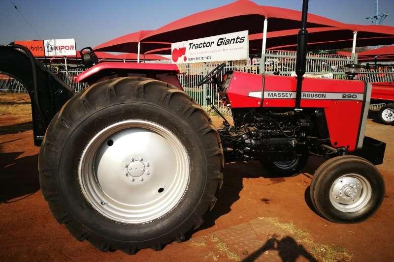 Massey Ferguson Two wheel drive tractors MF 290   Refurbished to new + Trailer Tractors