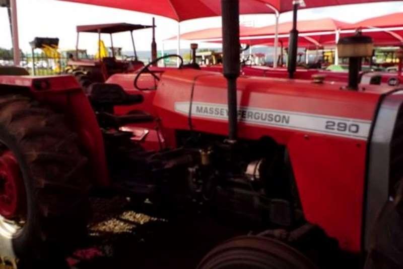 Massey Ferguson Tractors Two Wheel Drive Tractors MF 290 Tractor- 012 520 5010 - Tractor Giants