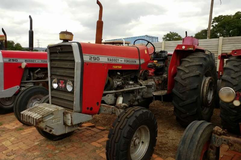 Massey Ferguson Tractors Two Wheel Drive Tractors MF 290 Tractor - 012 520 5010 - Tractor Giants