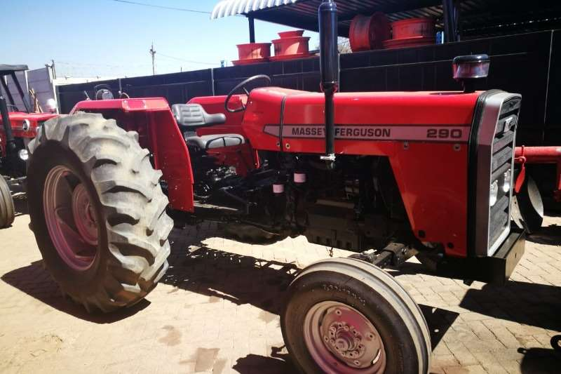 Massey Ferguson Tractors Two Wheel Drive Tractors MF 290 Tractor - Refurbished to NEW - 012 520 5010