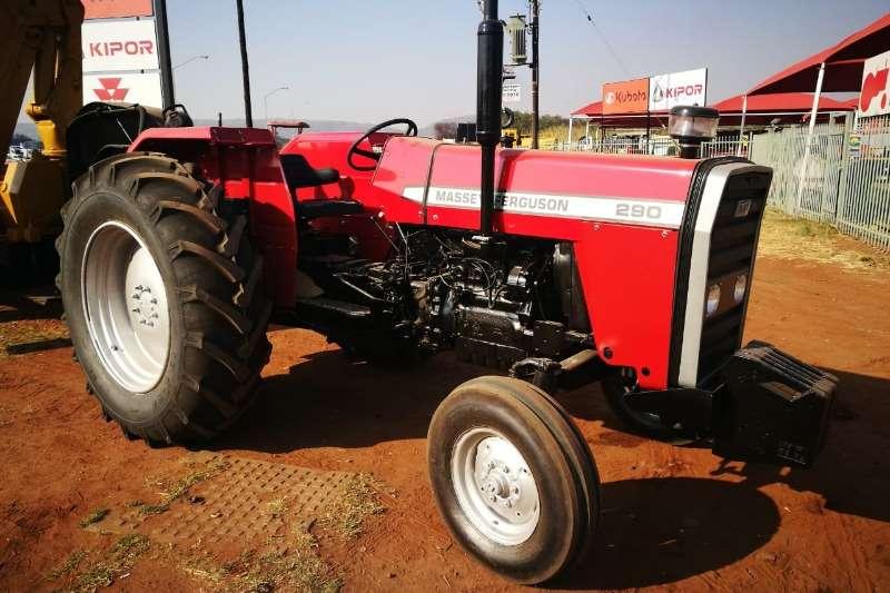 Massey Ferguson Tractors Two Wheel Drive Tractors MF 290 + Trailer