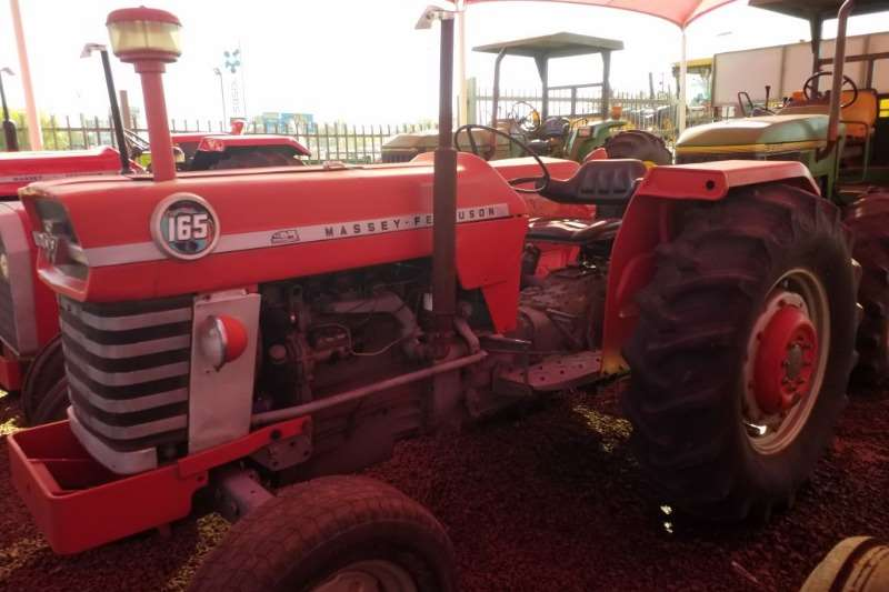 Massey Ferguson Tractors Two Wheel Drive Tractors MF 65 Tractor - 012 520 5010 - Tractor Giants