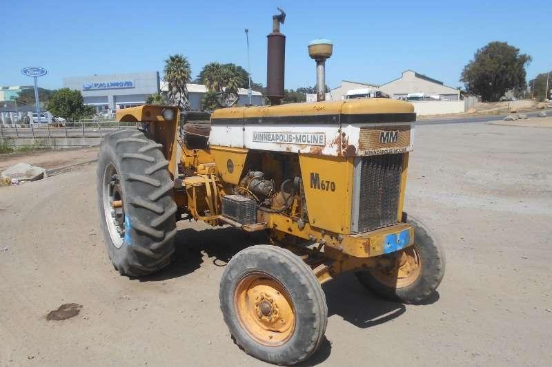 Minneapolis-Moline Antique tractors Moline Tractors