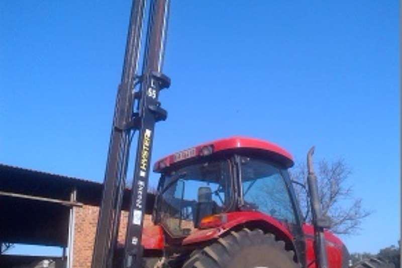 Myburgh Toerusting Machinery Tractor forklift 2017