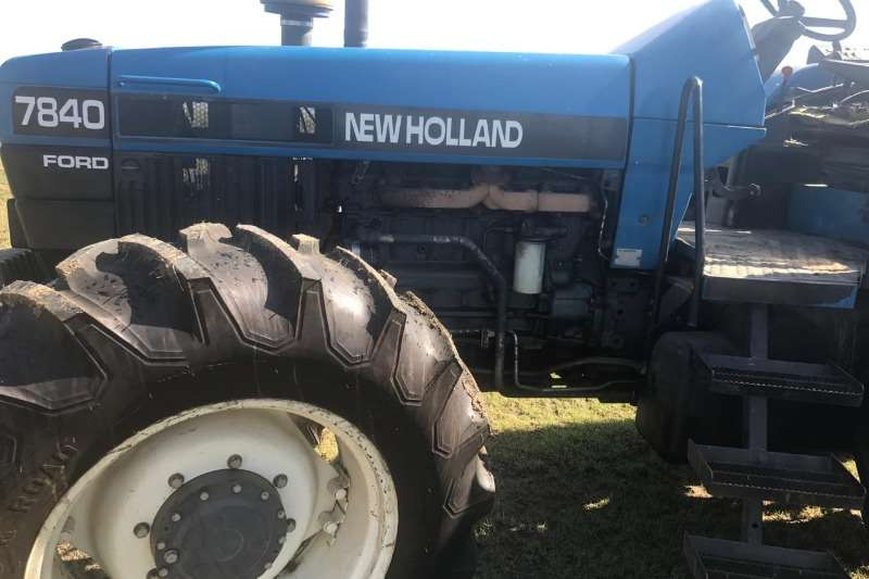 New Holland Tractors Ford New Holland